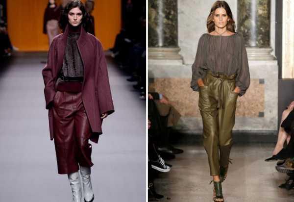 877f7634bba9 Брюки осень зима – Брюки осень-зима 2018-2019 и модные джинсы: 8 ...