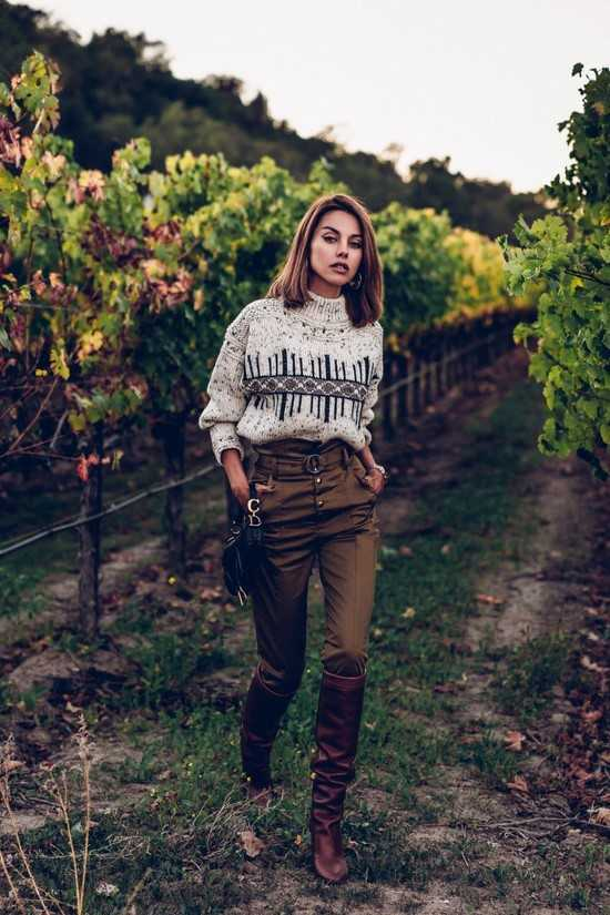 44c1baf6989a Брюки женские 2018 года модные тенденции фото – Женские брюки 2018 ...