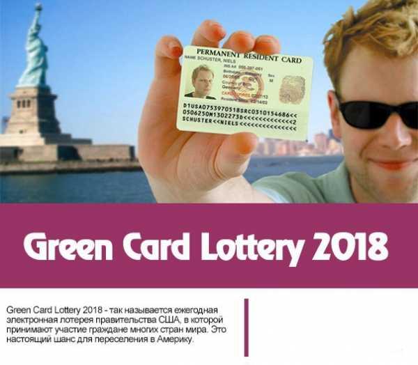 Грин карта 2019 лотерея