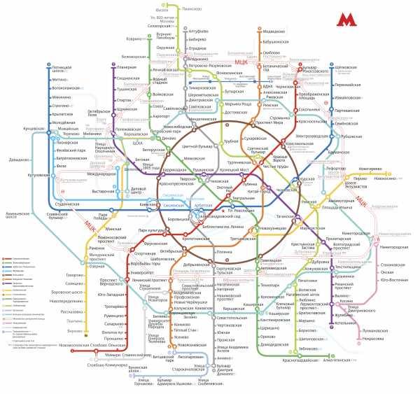карта метро москвы 2020 с расчётом времени и новыми станциями с мцк скачать