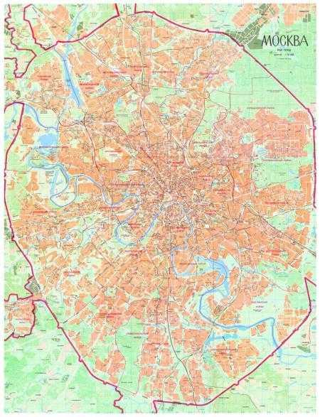 Интерактивная карта москвы с улицами и домами проложить маршрут
