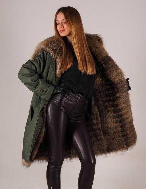 8622519c529 Модные женские зимние куртки с подкладом из натурального меха