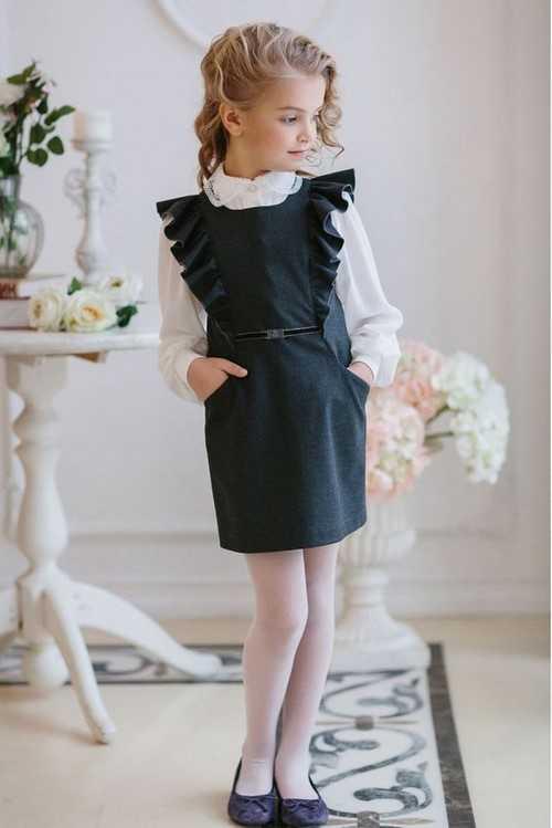 491229d2b49 Одежда школьная фото – ТОП ИДЕЙ  модная школьная форма 2018-2019 ...