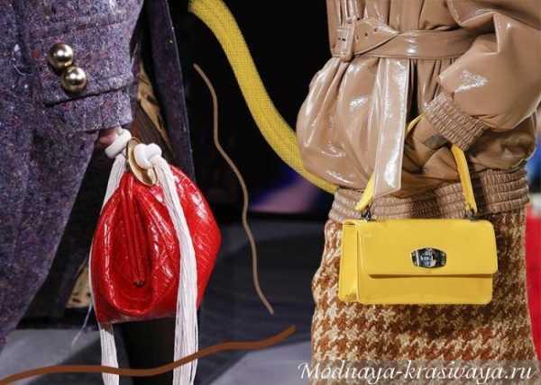 Осень-зима 2019-2020: выбираем стильную сумочку. 8 трендов часть 2 новые фото